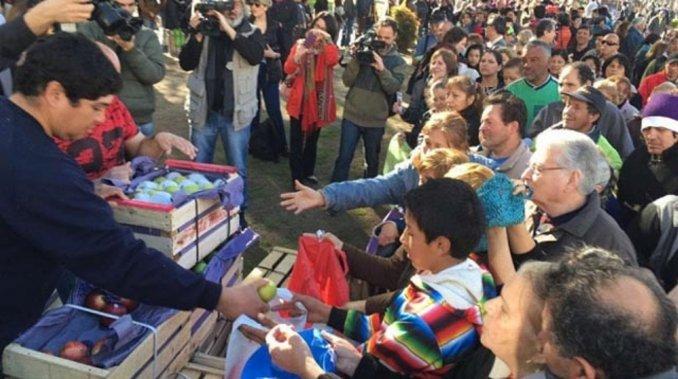 Verdurazo en Plaza de Mayo: opina Mariel Nieves Gutiérrez, de la Unión de Trabajadores de la Tierra