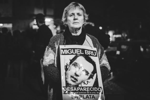 El nuevo jefe de la Bonaerense integró la comisaría donde fue desaparecido Miguel Brú. Opina Rosa Brú