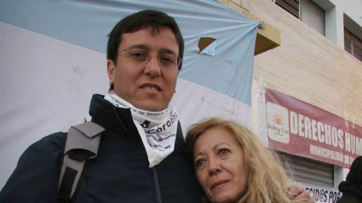 """Javier Fagetti, de H.I.J.O.S San Rafael: """"Mi vieja era una militante de la vida"""""""